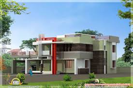 Kerala model house elevations   Kerala home design and floor plansModern Kerala house design   May
