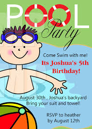 pool party invitations clipart clipart kid pool party invitation by one8edegree on