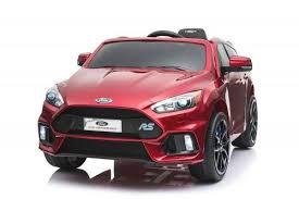 <b>Детский электромобиль Dake</b> Ford Focus RS Wine Red 12V 2.4G ...