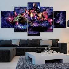 3 Panel <b>Combinatorial Art</b> Pictures Canvas HD Printed Iron Man ...