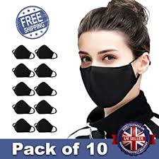 10 PCS <b>Cotton Anti-dust Mouth Face</b> mask Protect Cover Bandana ...