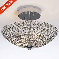 Crystal - Close To Ceiling Lights / Ceiling Lights ... - Amazon.com