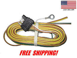 way trailer wiring connection kit flat wire extension trailer wire harness 4 way plug flat 25 trailer wiring harness 425yh