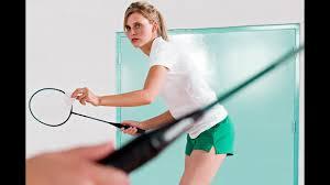 How to Return a <b>Serve</b> | <b>Badminton</b> Lessons - YouTube
