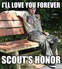 Boy Scout Pick-Up Line Julian memes   quickmeme via Relatably.com