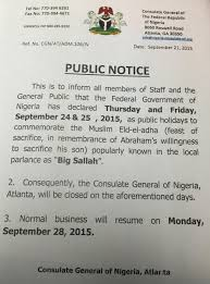 public holiday office closure ia consulate of atlanta consequently the offices of the consulate general of ia atlanta ga will be closed on these days normal business will resume on monday 28