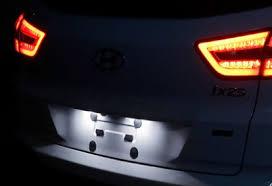 <b>Диодные лампы подсветки номерного</b> знака CRETA