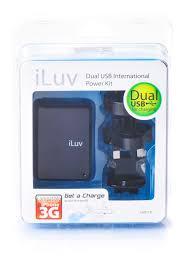 <b>Зарядное устройство</b> iLuv Travel Adapter Kit, черный – Telegraph