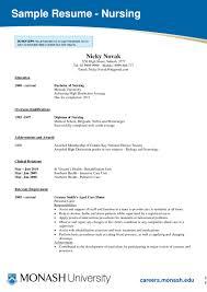examples of resumes for nurses  seangarrette coexamples