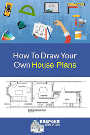 How To Draw Your Own House Plans   Bespoke Home Designdraw house plans