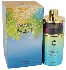 <b>Hawaiian Breeze</b> by <b>Ajmal</b> Eau De Parfum Spray 2.5 oz / 75 ml ...