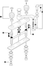 kitchen faucet repair:  moen kitchen faucet repair creative  best images of moen sink faucet repair diagrams moen bathroom