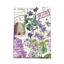 <b>Lilac</b> and Violets Large Sticky Note Folio NPFL286-<b>Michel Design</b> ...
