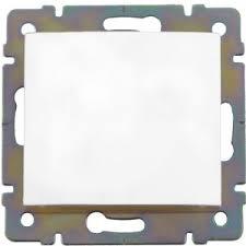 Одноклавишный кнопочный <b>выключатель</b>, белый <b>Legrand Valena</b> ...
