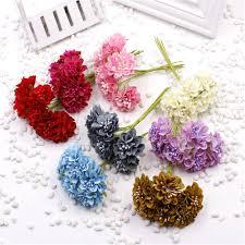 cheap <b>6pcs</b>/<b>lot</b> Silk Realistic Daisy Artificial Flower For <b>Wedding</b> ...