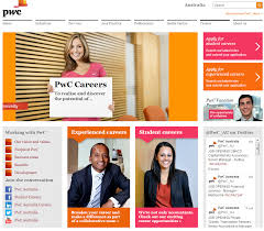 examples of great career sites the social recruiter pwc career site