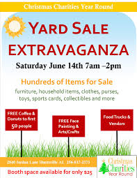 yard extravaganza rocket city mom yard flyer