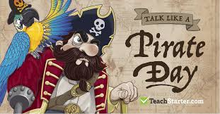 Talk Like a Pirate Day 2017 | Activities, Templates & More!