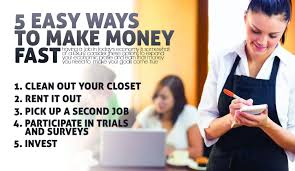 5 easy ways to make money fast makemoneyinlife com ways to make money