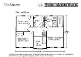 Amherst by Westchester Modular Homes Two Story FloorplanAmherst Two Story Floorplan by Westchester Modular Homes