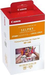 <b>Набор</b> для печати <b>Canon RP</b>-<b>108</b> — купить в интернет-магазине ...