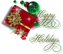 Image result for happy holidays animated