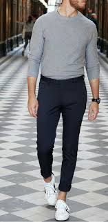 white <b>sneakers</b> outfit ideas for <b>men</b>, how to wear white <b>sneakers</b> for ...