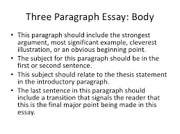 three paragraph essay 3 examples of conclusion paragraphs for persuasive essays