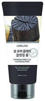 Lebelage <b>пенка для умывания</b> с древесным углем <b>Charcoal</b> Pore ...