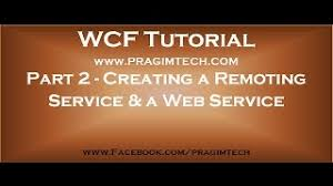 Nitin Manju     s Blog   Creating a WCF service from scratch without     CodeProject