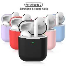 Silicone Earphone Cases for AirPods 2 Skin Sleeve Pouch ... - Vova