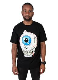 Cyco Skull Keep Watch T-Shirt (Black)
