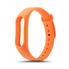 <b>Xiaomi Силиконовый ремешок</b> для <b>Mi</b> Band 4 Оранжевый -