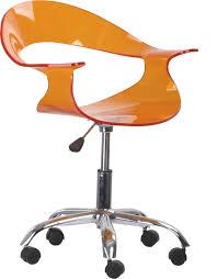 product description acrylic office chair