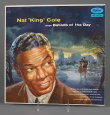 "Record:<b>Nat</b> ""<b>King</b>"" <b>Cole</b> Sings Ballads of the Day - Capitol Records ..."