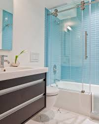 blue bathroom tile ideas: photos hgtv white bathroom with blue glass tile backsplash contemporary home decor walmart home