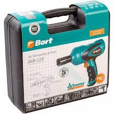 Гайковерт проводной автомобильный <b>BORT BSR</b>-<b>12X</b> - купить в ...
