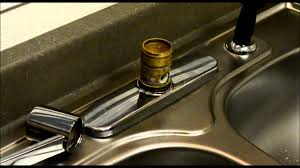 Changing A Kitchen Faucet Moen Style Kitchen Faucet Repair Youtube