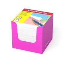 <b>Бумага для заметок Erich</b> Krause, 90 x 90 x 90 мм, в розовой ...