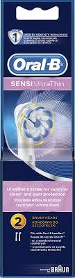 Насадка для электрической <b>зубной щетки Oral</b>-<b>B</b> Sensi <b>Ultrathin</b> ...