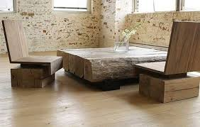 chunky wood beams make beautiful simple furniture that is elegant and modern by luann beautiful furniture pictures