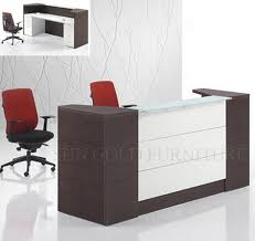 office reception counter wood modern office reception counter desk design sz rtb009 3 bow front reception counter office