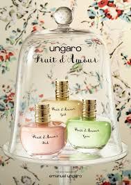 <b>EMANUEL UNGARO</b> - <b>Fruit d'amour</b> - The new fragrance on Behance
