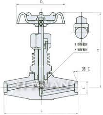 j y w the heat pressure globe valve yi huan shanghaij y w the heat pressure globe valve diagram