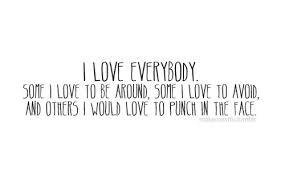 I Hate Love Quotes. QuotesGram