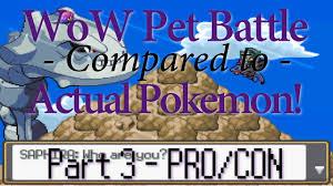 strengths weaknesses of each pet battles compared to pokemon 3 strengths weaknesses of each pet battles compared to pokemon