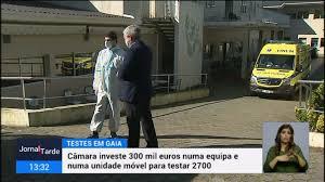Vila Nova de Gaia ultrapassa barreira dos dez mil infetados