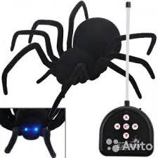<b>Робот</b>-<b>паук радиоуправляемый Cute Sunlight</b> Black Wi - Хобби и ...