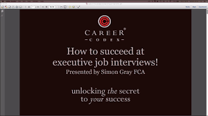 how to success at executive job interviews how to success at executive job interviews