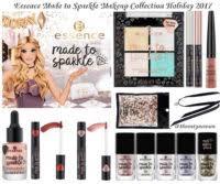 Новогодняя коллекция макияжа <b>Essence Made</b> to Sparkle Makeup ...